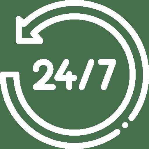 24/7 global coverage